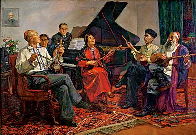 turkmen cultural music